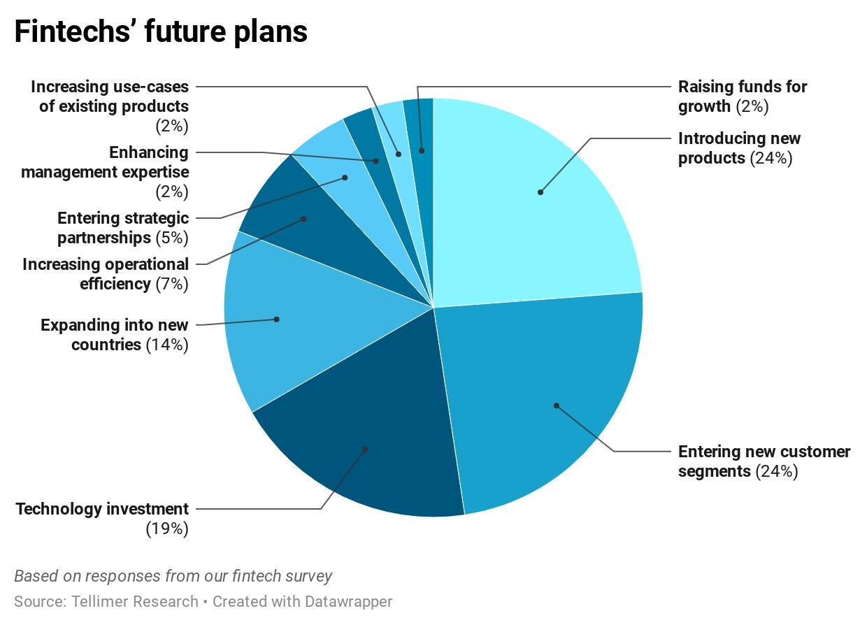 Fintechs' future plans