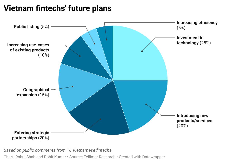Vietnam fintechs' future plans
