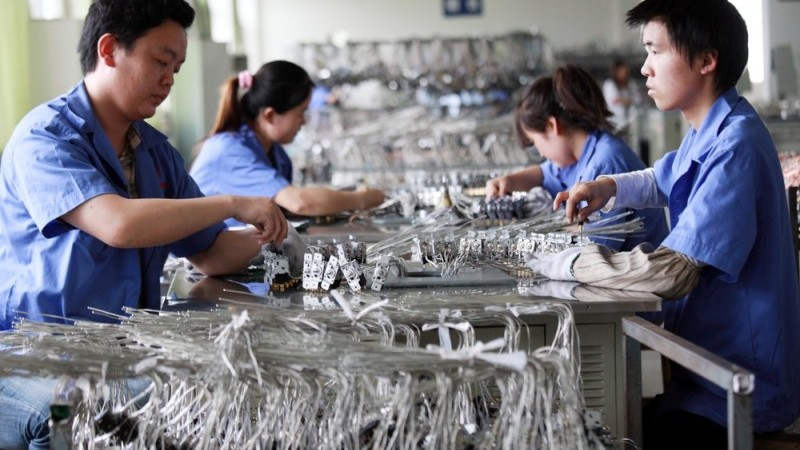 China manufacturing PMI continued to rise