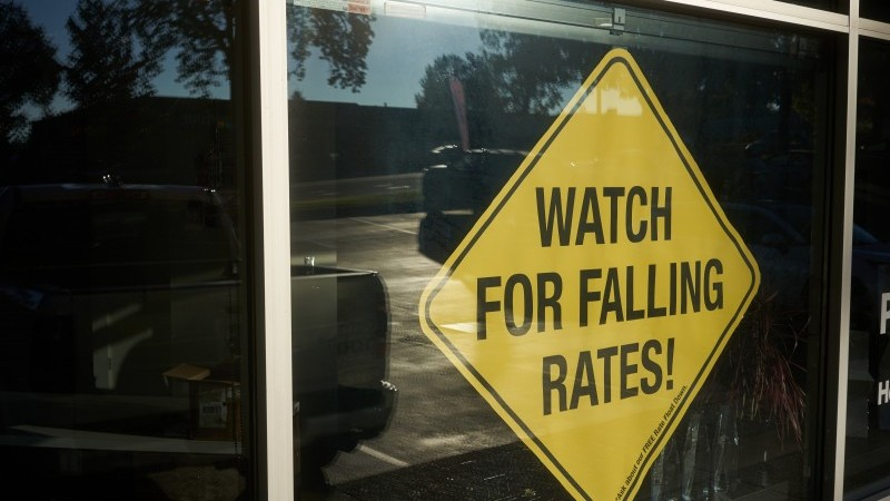 Here's why US market rates are falling