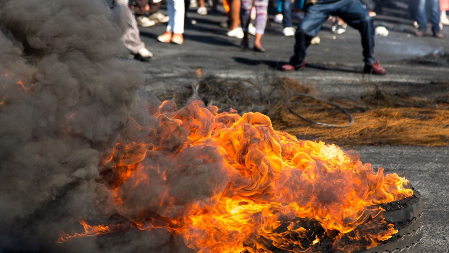 The stark inequality behind South Africa's riots