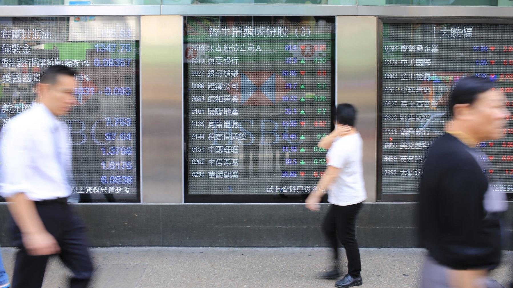 Gloomy forecast for the Hang Seng