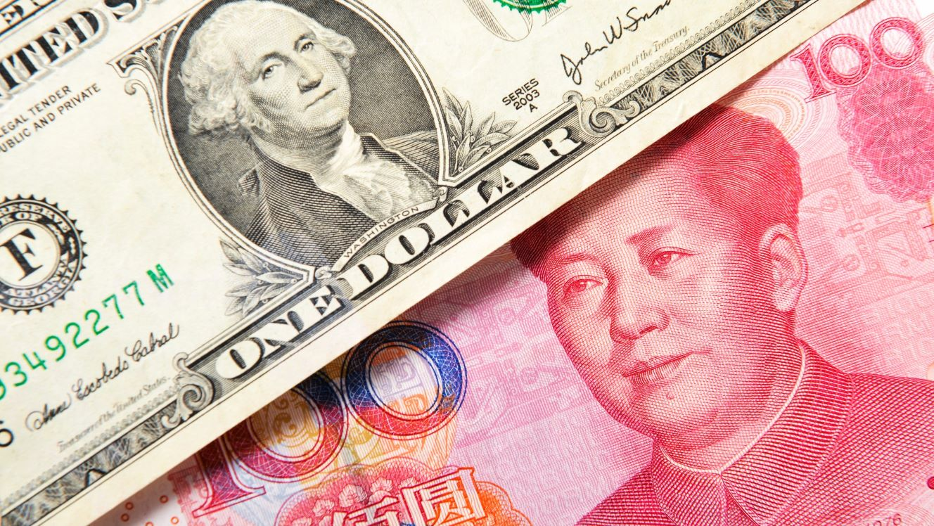 Chinese yuan breaks 3-year high against the dollar