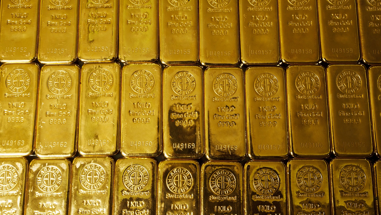 This is what our model predicts for Gold, and its correlation with Bitcoin