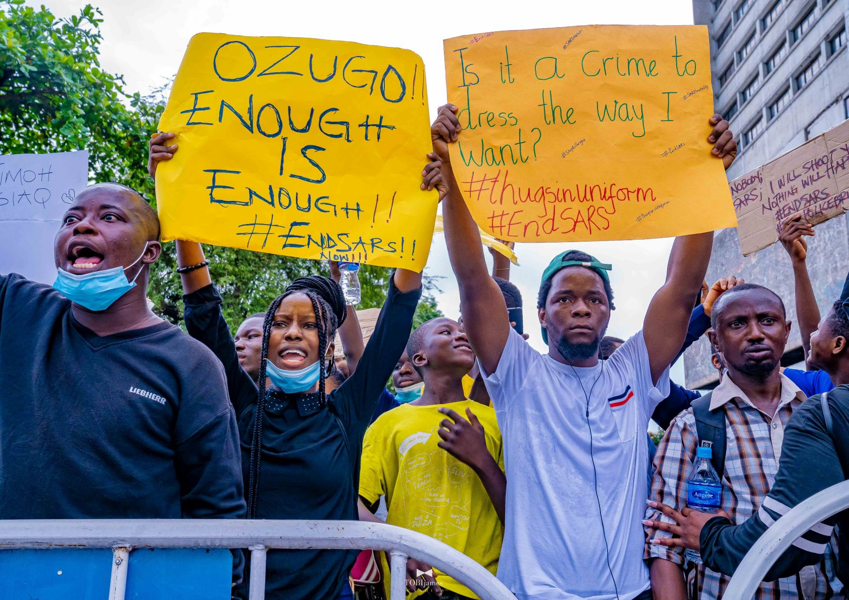 Nigeria #EndSARS protests more broadly politicised but low in list of risks
