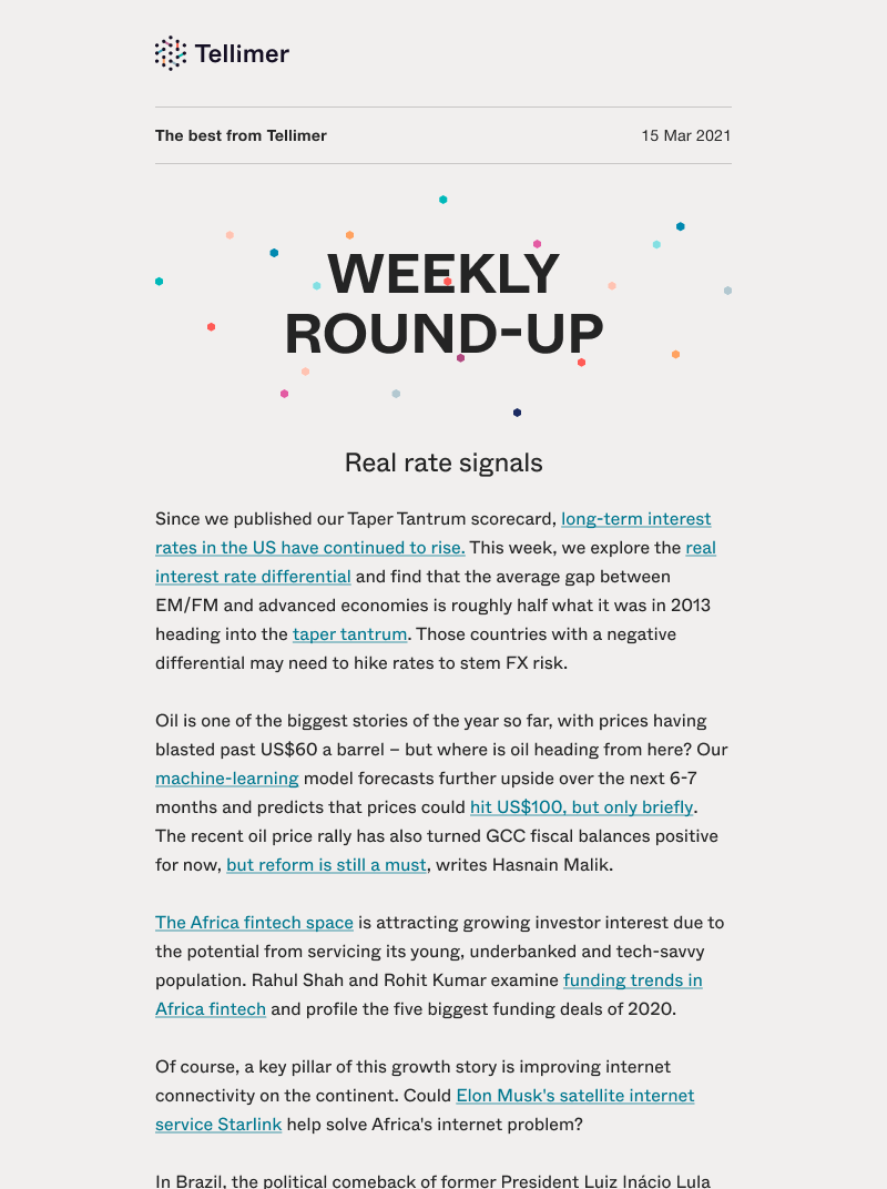 Weekly Research Round-Up